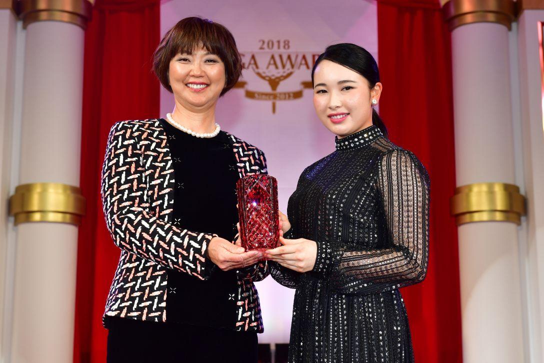 LPGAアワード2018 小祝さくら<Photo:Atsushi Tomura/Getty Images>