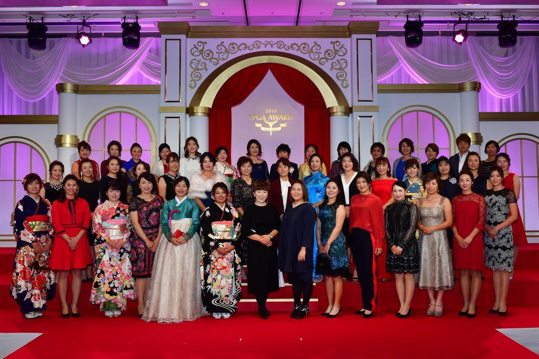LPGAアワード2018<Photo:Atsushi Tomura/Getty Images>