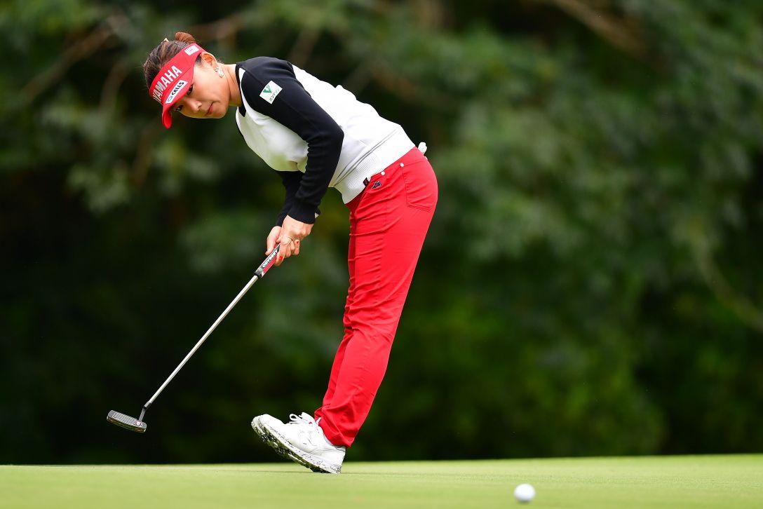 第32回ダイキンオーキッドレディスゴルフトーナメント 2日目 有村 智恵 <Photo:Atsushi Tomura/Getty Images>