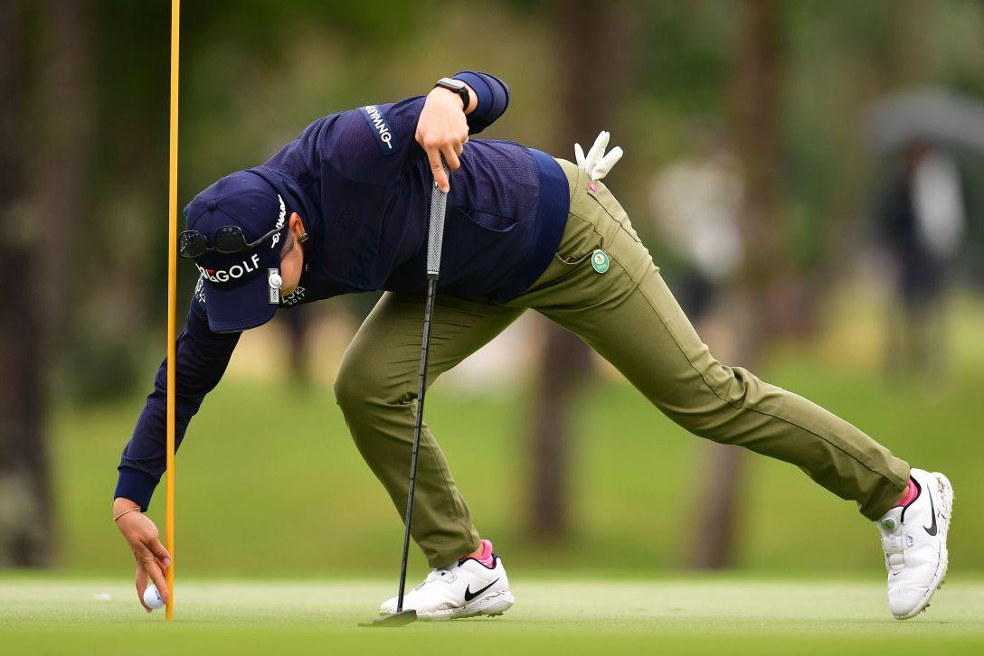 第32回ダイキンオーキッドレディスゴルフトーナメント 2日目 成田 美寿々 <Photo:Atsushi Tomura/Getty Images>