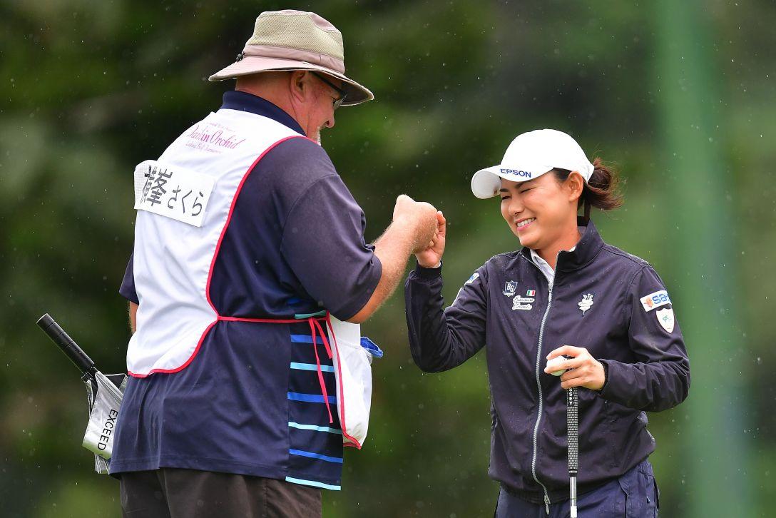 第32回ダイキンオーキッドレディスゴルフトーナメント 3日目 横峯さくら <Photo:Atsushi Tomura/Getty Images>