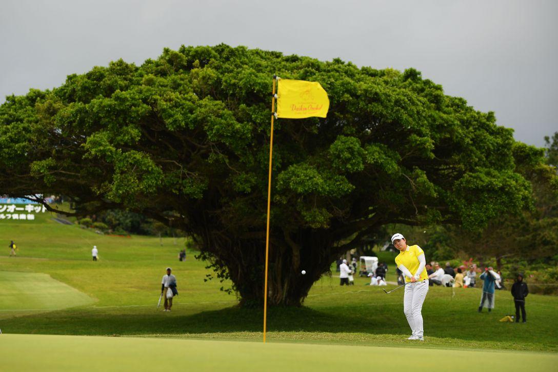 第32回ダイキンオーキッドレディスゴルフトーナメント 最終日 山内日菜子 <Photo:Atsushi Tomura/Getty Images>