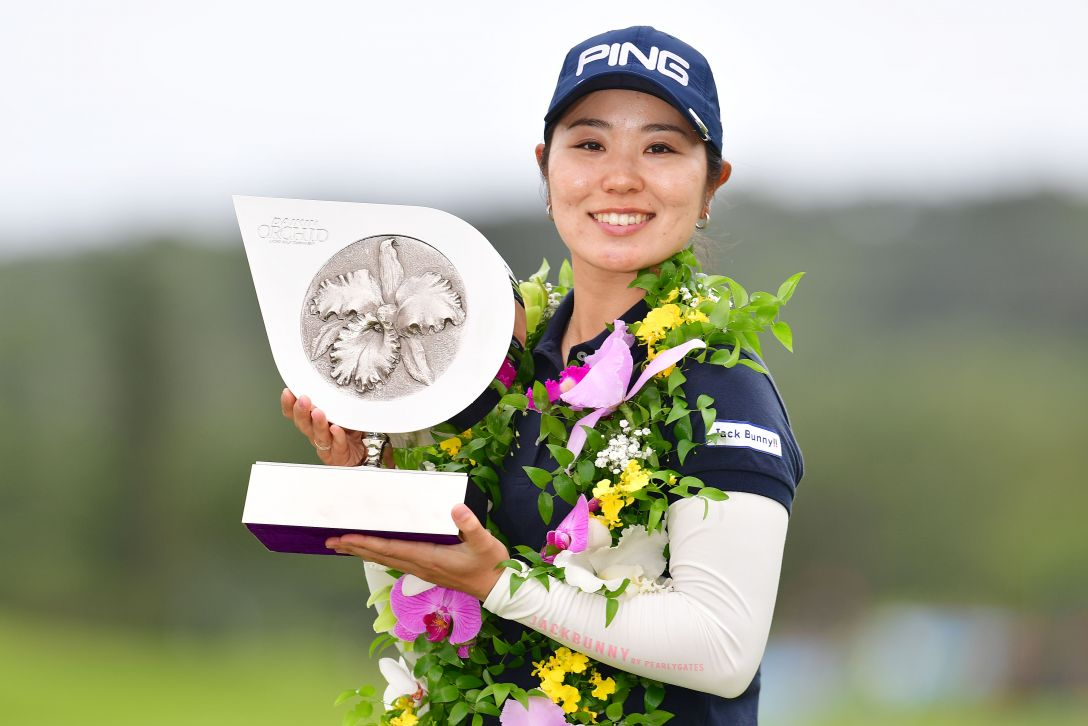第32回ダイキンオーキッドレディスゴルフトーナメント 最終日 比嘉 真美子  <Photo:Atsushi Tomura/Getty Images>