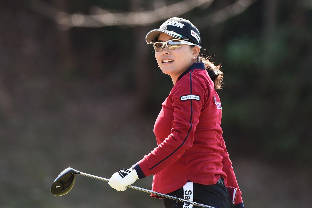 ヨコハマタイヤゴルフトーナメント PRGRレディスカップ 1日目 勝 みなみ <Photo:Matt Roberts/Getty Images>