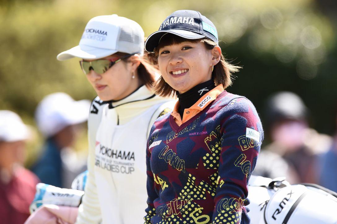 ヨコハマタイヤゴルフトーナメント PRGRレディスカップ 第2日 永井 花奈 <Photo:Matt Roberts/Getty Images>