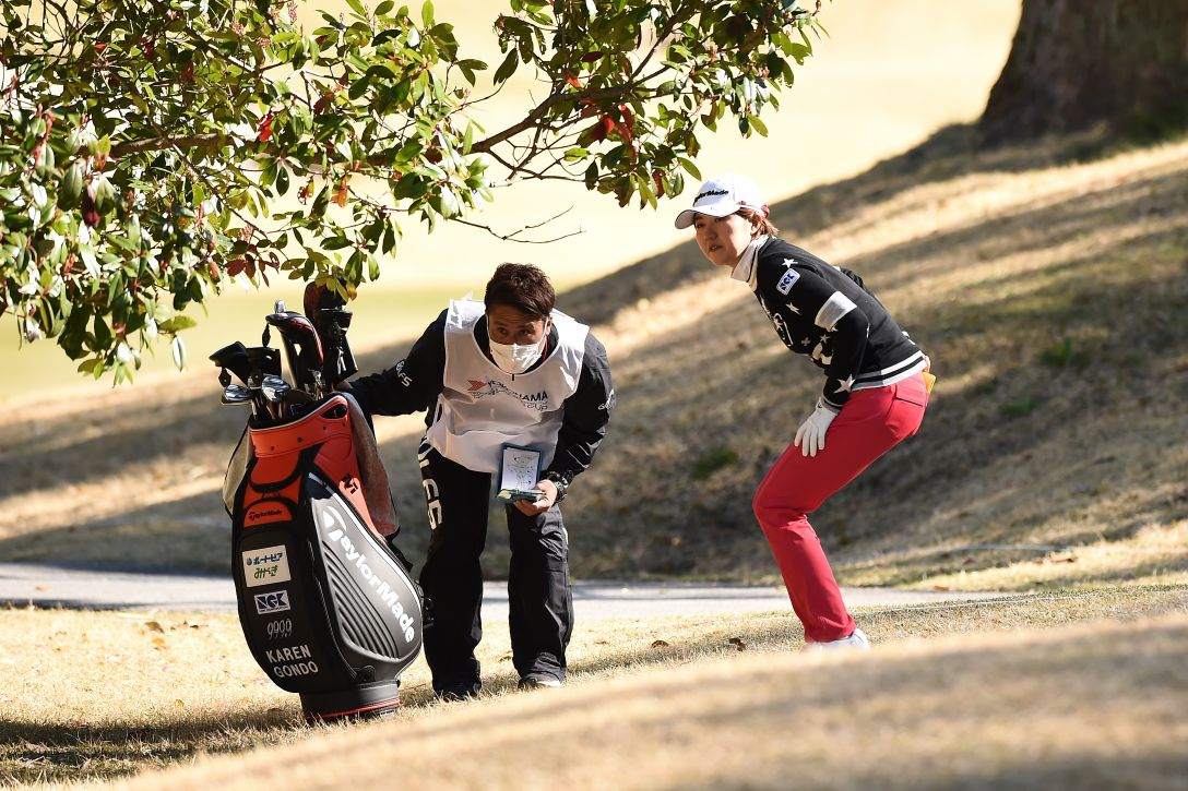 ヨコハマタイヤゴルフトーナメント PRGRレディスカップ 第2日 権藤 可恋 <Photo:Matt Roberts/Getty Images>