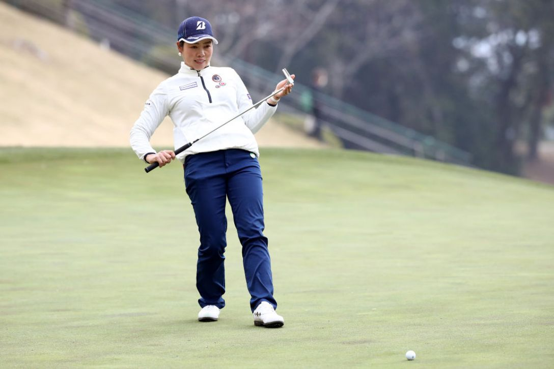 Tポイント×ENEOS ゴルフトーナメント 第1日 西山ゆかり <Photo:Chung Sung-Jun/Getty Images>