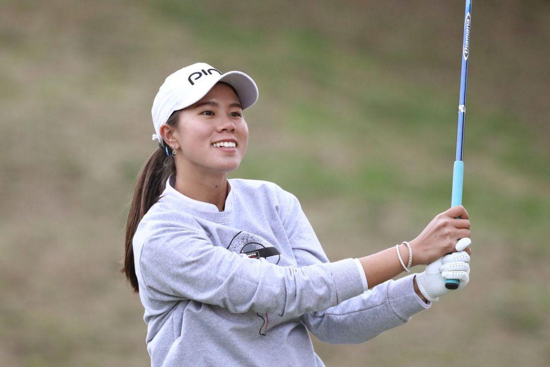 Tポイント×ENEOS ゴルフトーナメント 第1日 S.ランクン <Photo:Chung Sung-Jun/Getty Images>