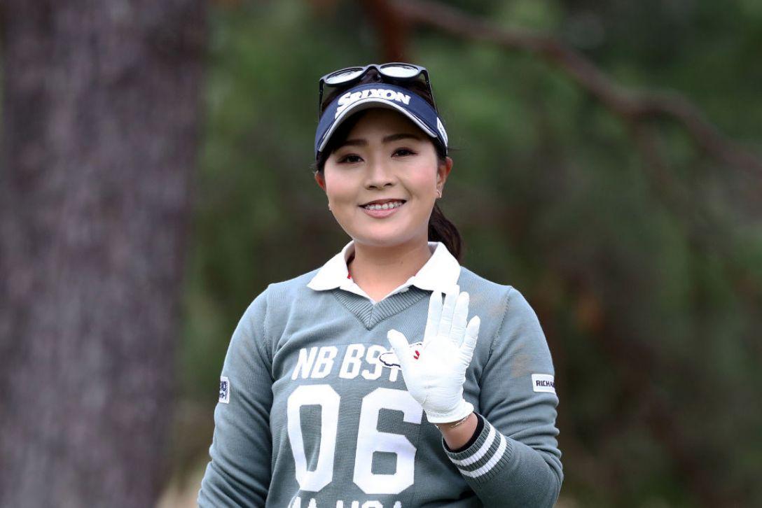 Tポイント×ENEOS ゴルフトーナメント 第1日 青木 瀬令奈 <Photo:Chung Sung-Jun/Getty Images>