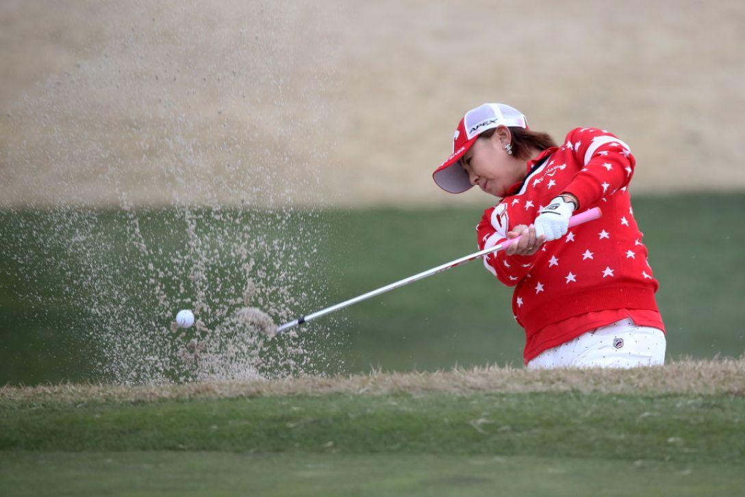 Tポイント×ENEOS ゴルフトーナメント 第1日 佐伯三貴 <Photo:Chung Sung-Jun/Getty Images>