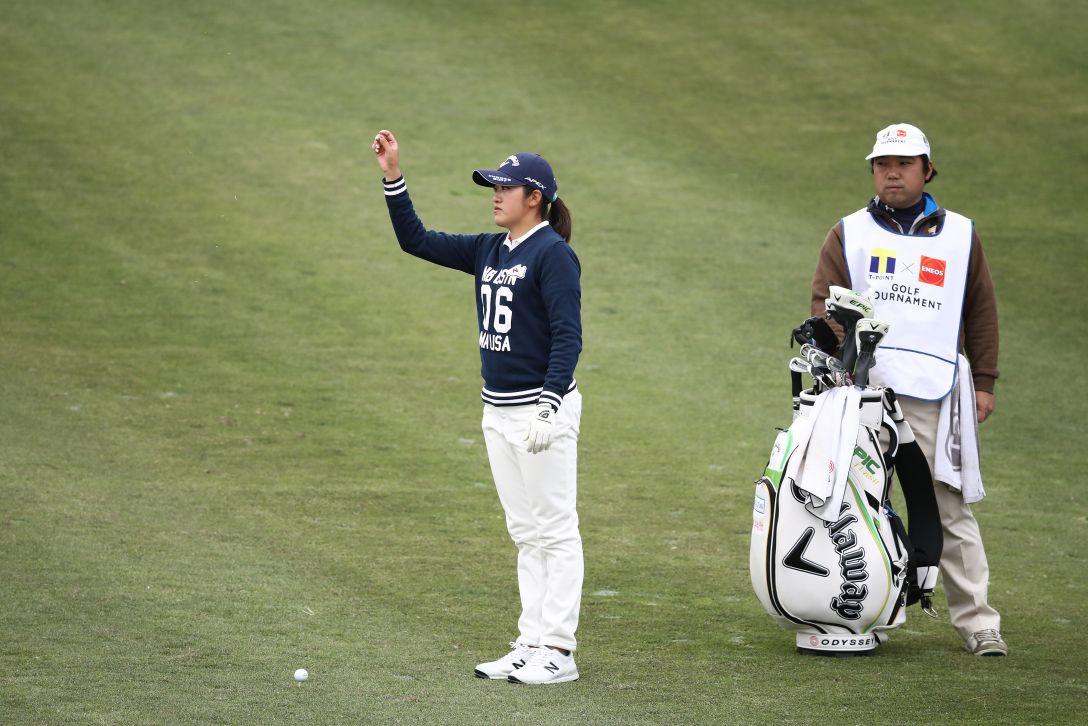 Tポイント×ENEOS ゴルフトーナメント 第2日 稲見 萌寧 <Photo:Chung Sung-Jun/Getty Images>