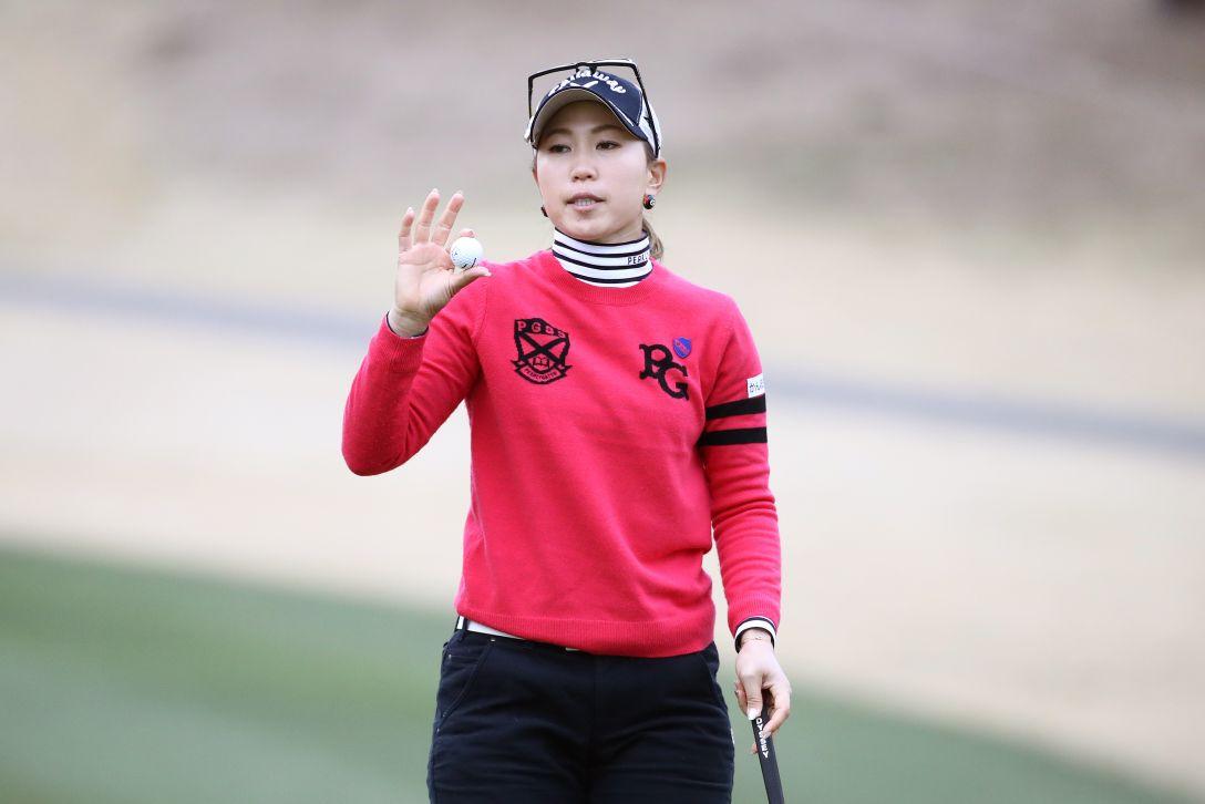 Tポイント×ENEOS ゴルフトーナメント 第2日 上田 桃子 <Photo:Chung Sung-Jun/Getty Images>