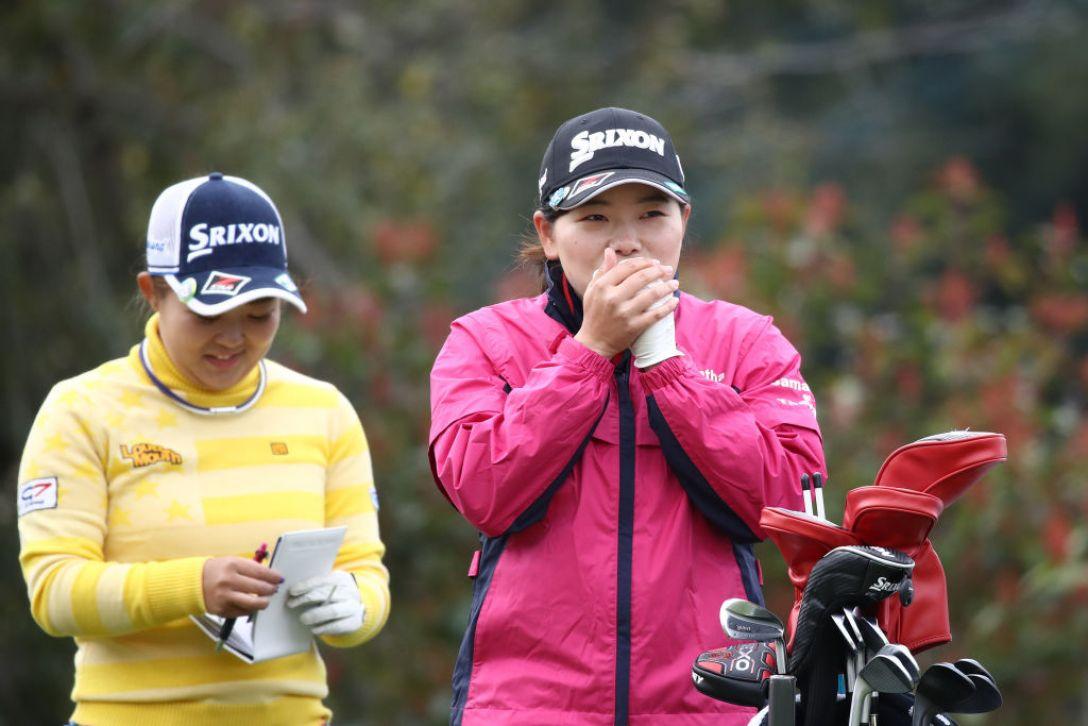 Tポイント×ENEOS ゴルフトーナメント 第2日 勝 みなみ <Photo:Chung Sung-Jun/Getty Images>