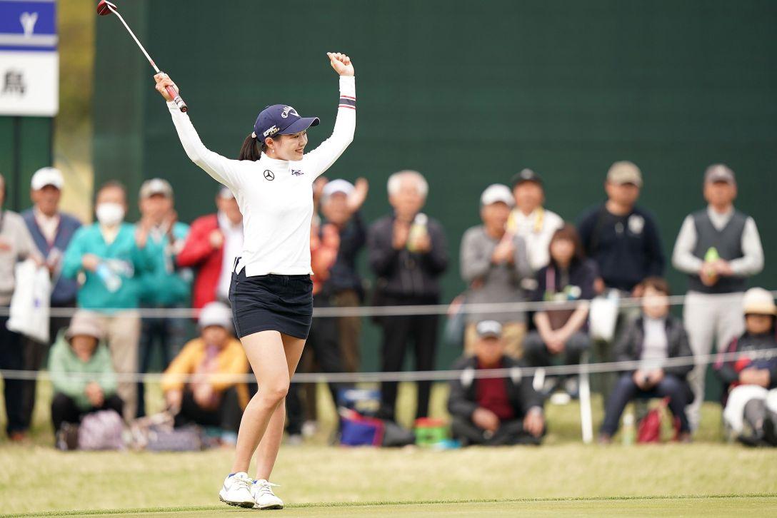 第7回アクサレディスゴルフトーナメント in MIYAZAKI 第1日 三浦桃香 <Photo:Ken Ishii/Getty Images>