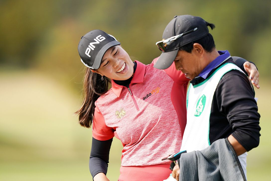第7回アクサレディスゴルフトーナメント in MIYAZAKI 第1日 S.ランクン <Photo:Ken Ishii/Getty Images>