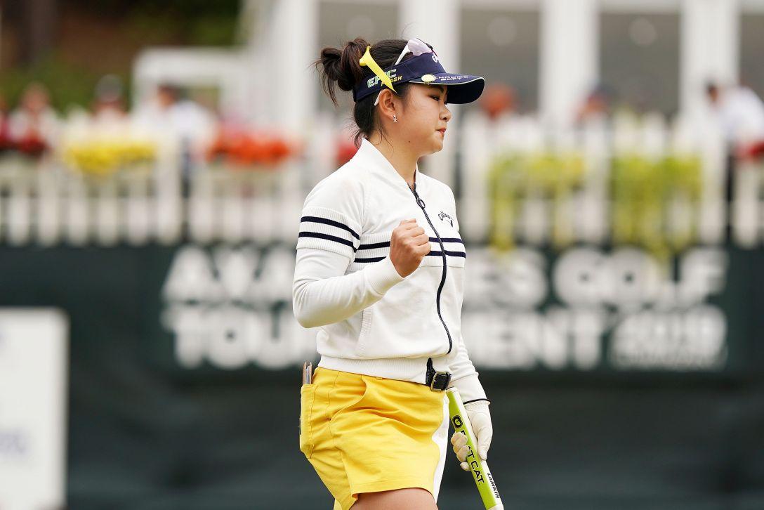 第7回アクサレディスゴルフトーナメント in MIYAZAKI 第1日 河本結 <Photo:Ken Ishii/Getty Images>