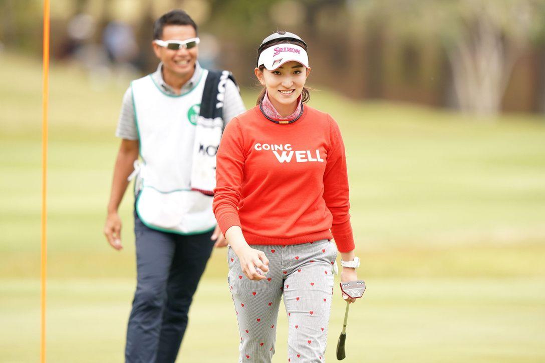 第7回アクサレディスゴルフトーナメント in MIYAZAKI 第1日 脇元華 <Photo:Ken Ishii/Getty Images>
