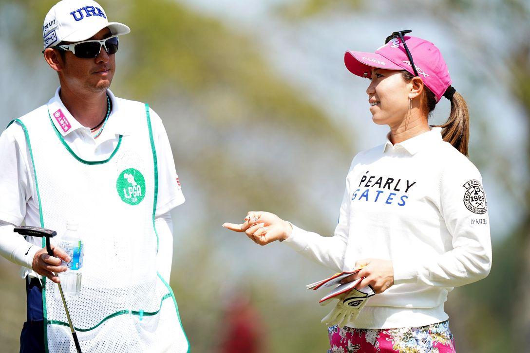 第7回アクサレディスゴルフトーナメント in MIYAZAKI 第2日 上田桃子 <Photo:Ken Ishii/Getty Images>
