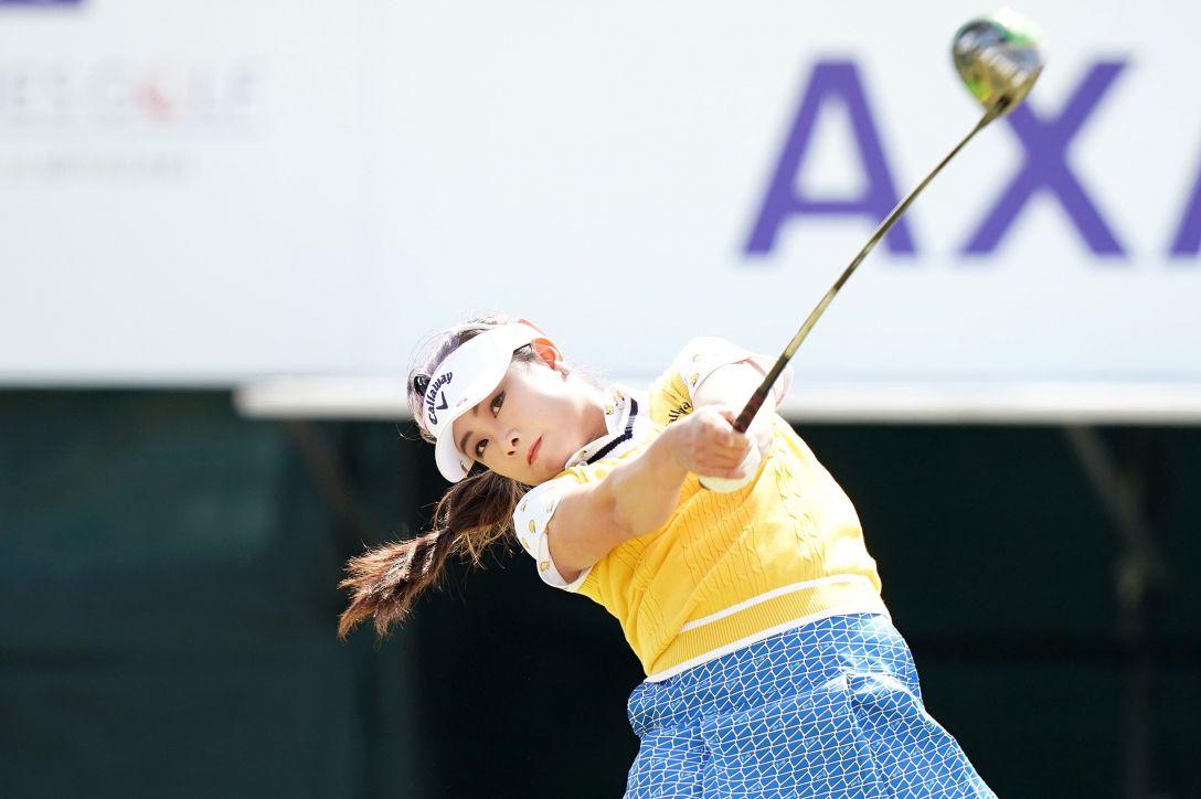 第7回アクサレディスゴルフトーナメント in MIYAZAKI 第2日 河本結 <Photo:Ken Ishii/Getty Images>
