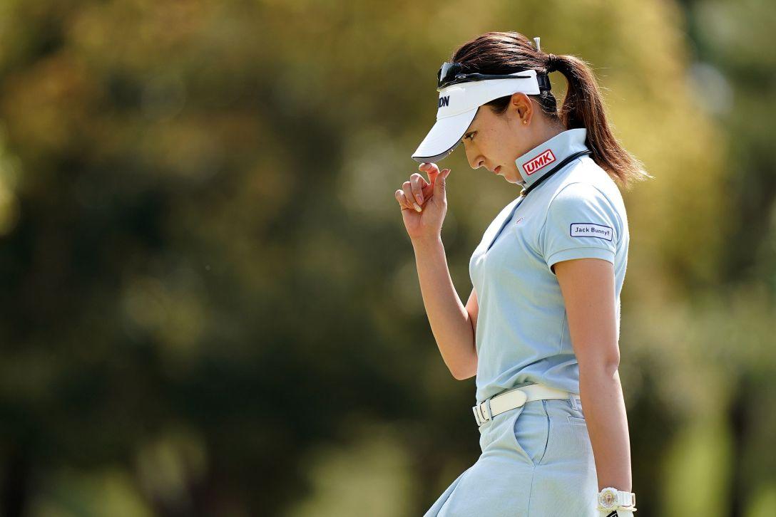 第7回アクサレディスゴルフトーナメント in MIYAZAKI 第2日 脇元華 <Photo:Ken Ishii/Getty Images>