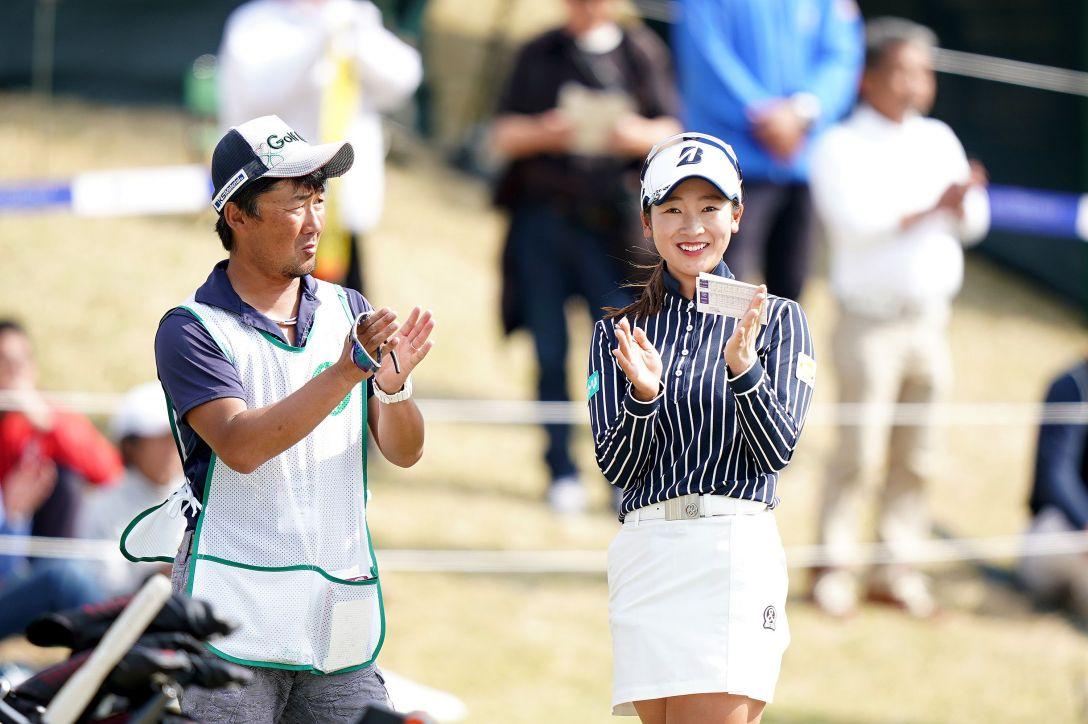 第7回アクサレディスゴルフトーナメント in MIYAZAKI 第2日 松田鈴英 <Photo:Ken Ishii/Getty Images>