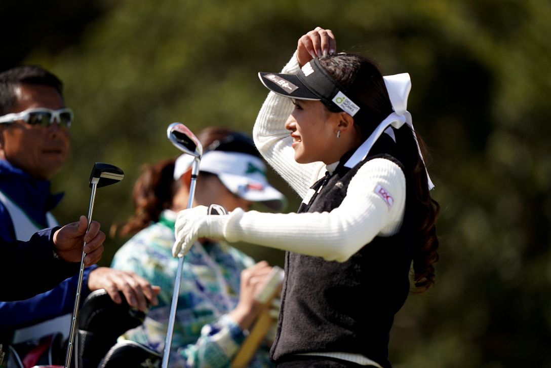 第7回アクサレディスゴルフトーナメント in MIYAZAKI 最終日 臼井麗香 <Photo:Ken Ishii/Getty Images>