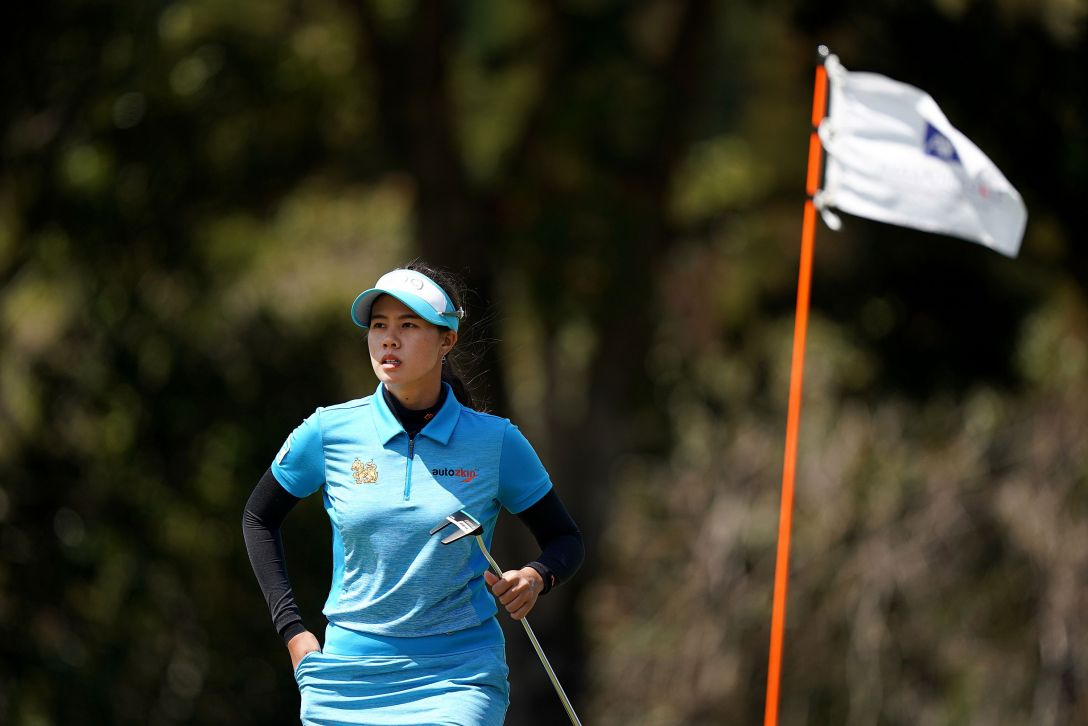 第7回アクサレディスゴルフトーナメント in MIYAZAKI 最終日 S.ランクン <Photo:Ken Ishii/Getty Images>