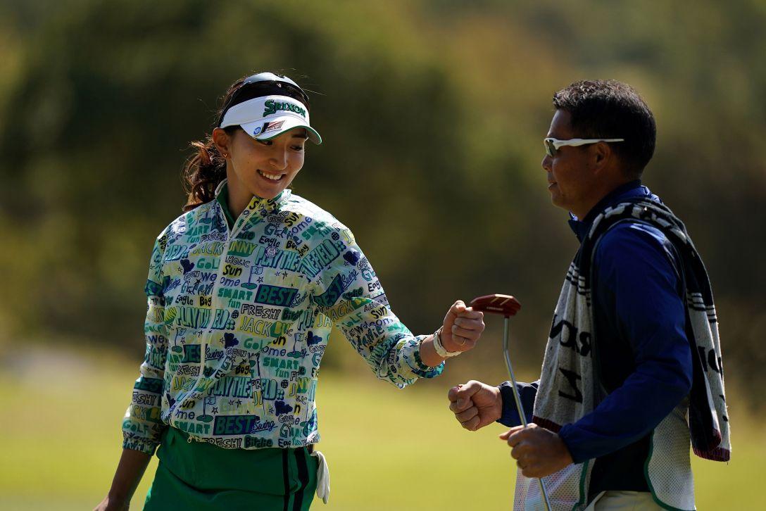 第7回アクサレディスゴルフトーナメント in MIYAZAKI 最終日 脇元華 <Photo:Ken Ishii/Getty Images>