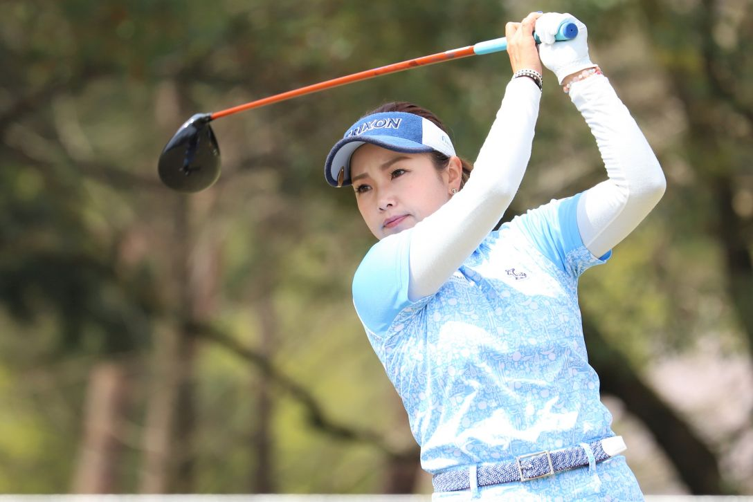 Hanasaka Ladies Yanmar Golf Tournament 第1日 青山加織