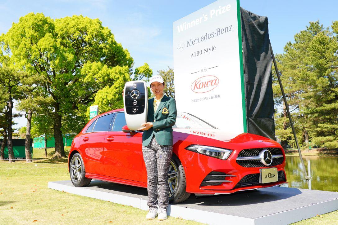 KKT杯バンテリンレディスオープン 最終日 李知姫 車 <Photo:Masterpress/Getty Images>