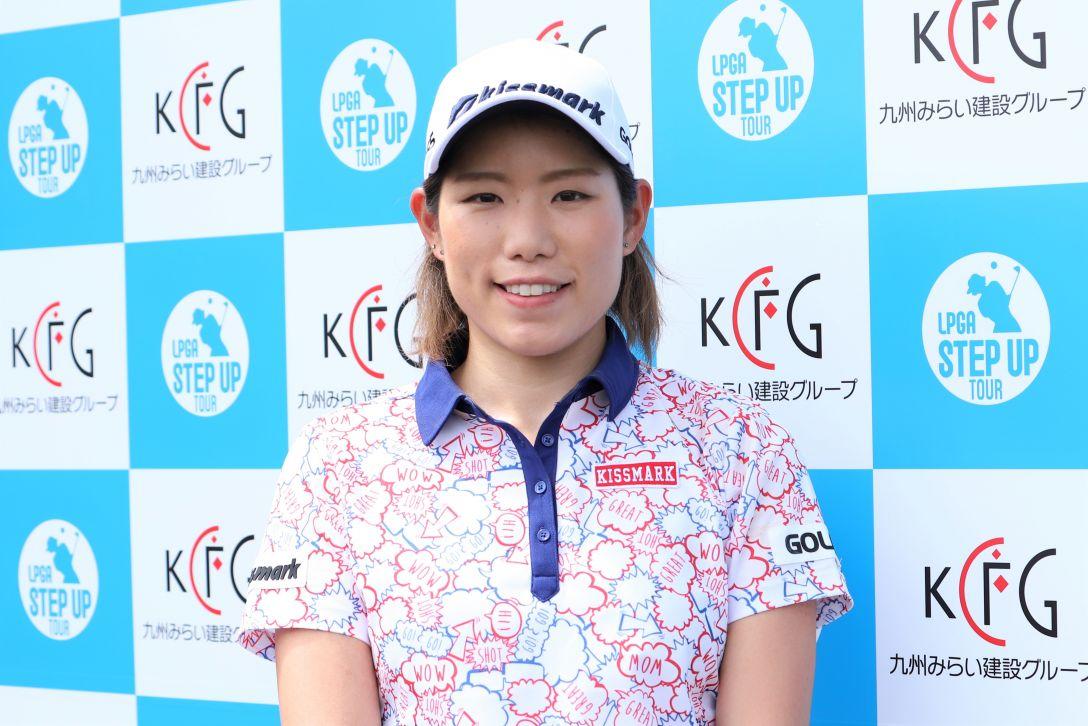 九州みらい建設グループレディースゴルフトーナメント 第1日 山田成美