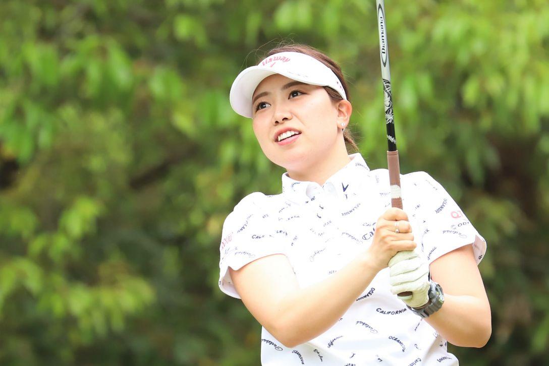 九州みらい建設グループレディースゴルフトーナメント 第1日 種子田香夏