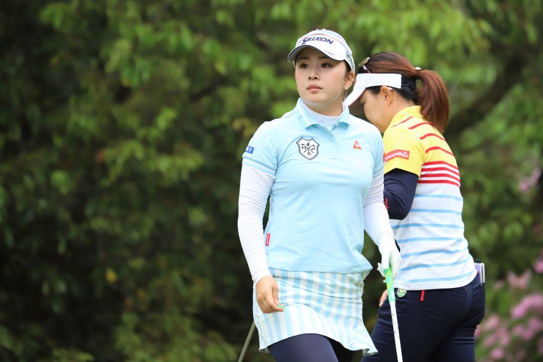 九州みらい建設グループレディースゴルフトーナメント 第1日 土田沙弥香