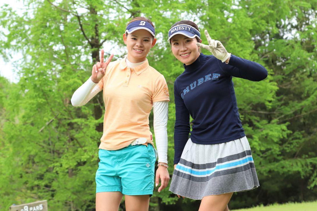 九州みらい建設グループレディースゴルフトーナメント 第1日 森井あやめ 井上りこ