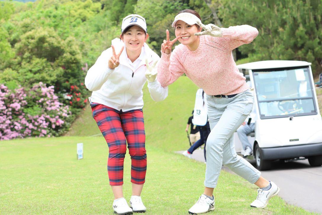 九州みらい建設グループレディースゴルフトーナメント 第2日 工藤優海 井上りこ