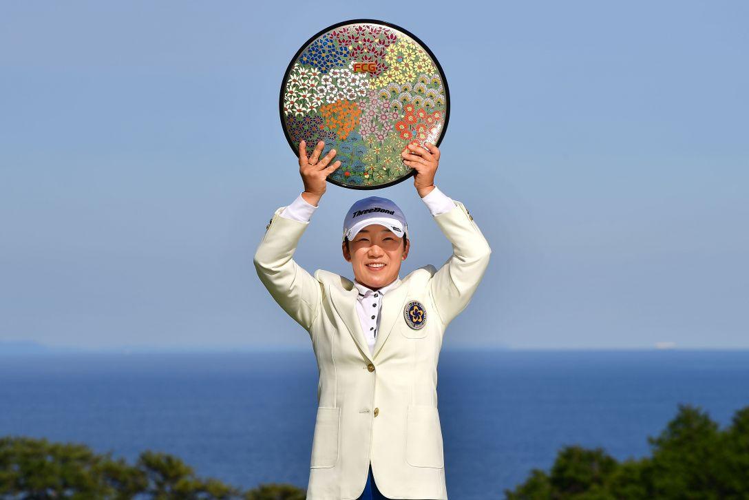38th フジサンケイレディスクラシック 最終日 申ジエ <Photo:Atsushi Tomura/Getty Images>