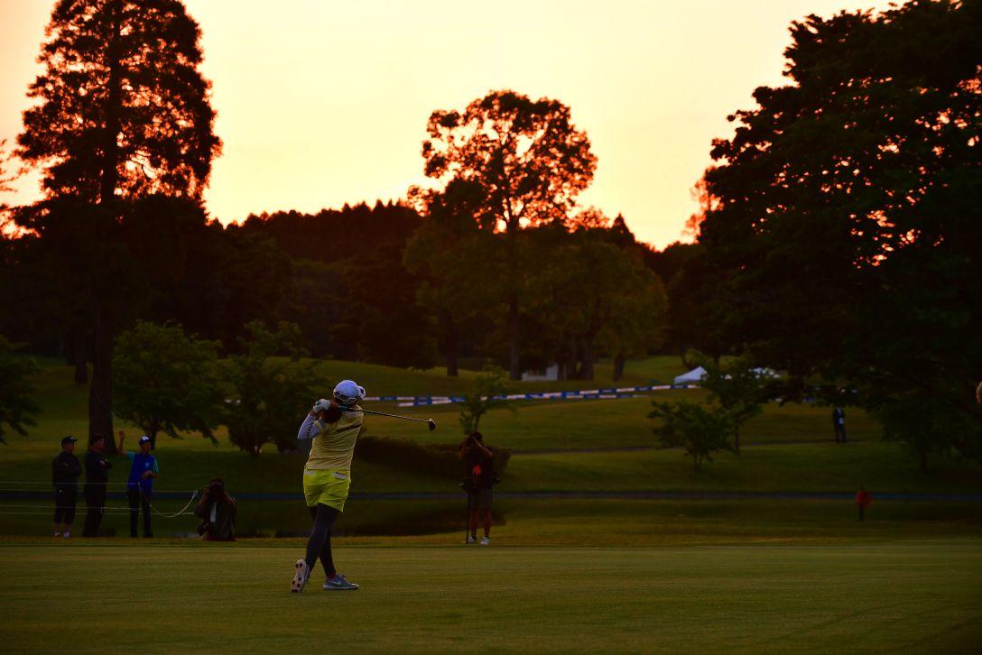 パナソニックオープンレディースゴルフトーナメント 最終日 勝みなみ <Photo:Atsushi Tomura/Getty Images>