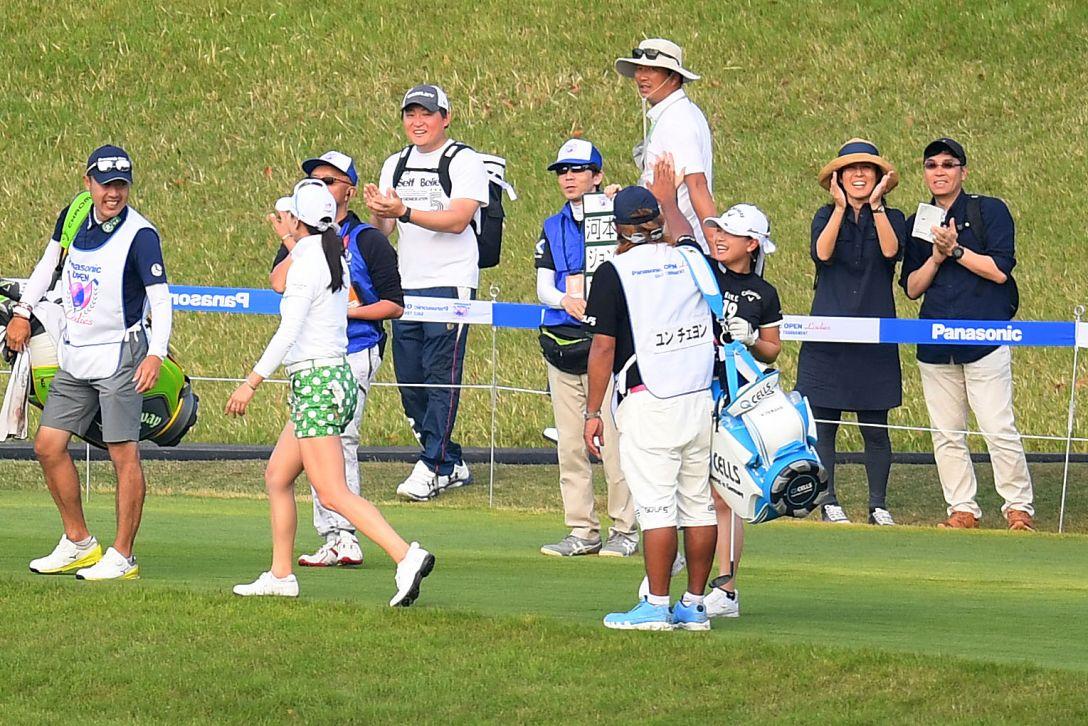 パナソニックオープンレディースゴルフトーナメント 最終日 河本結 <Photo:Atsushi Tomura/Getty Images>
