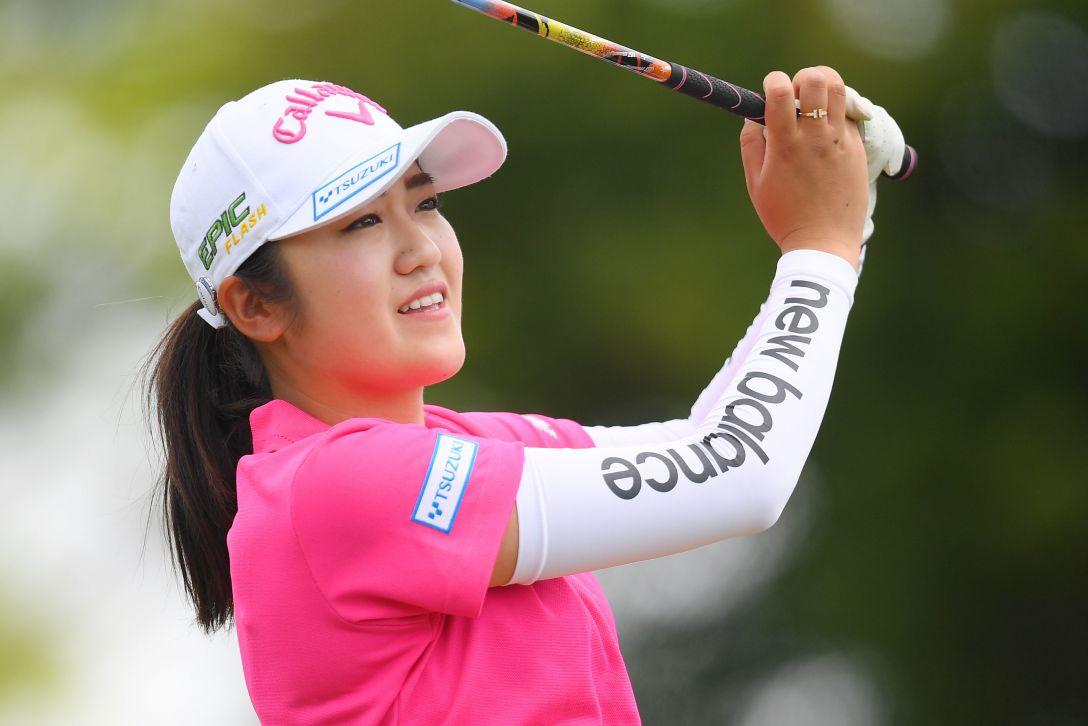 パナソニックオープンレディースゴルフトーナメント 最終日 稲見萌寧 <Photo:Atsushi Tomura/Getty Images>