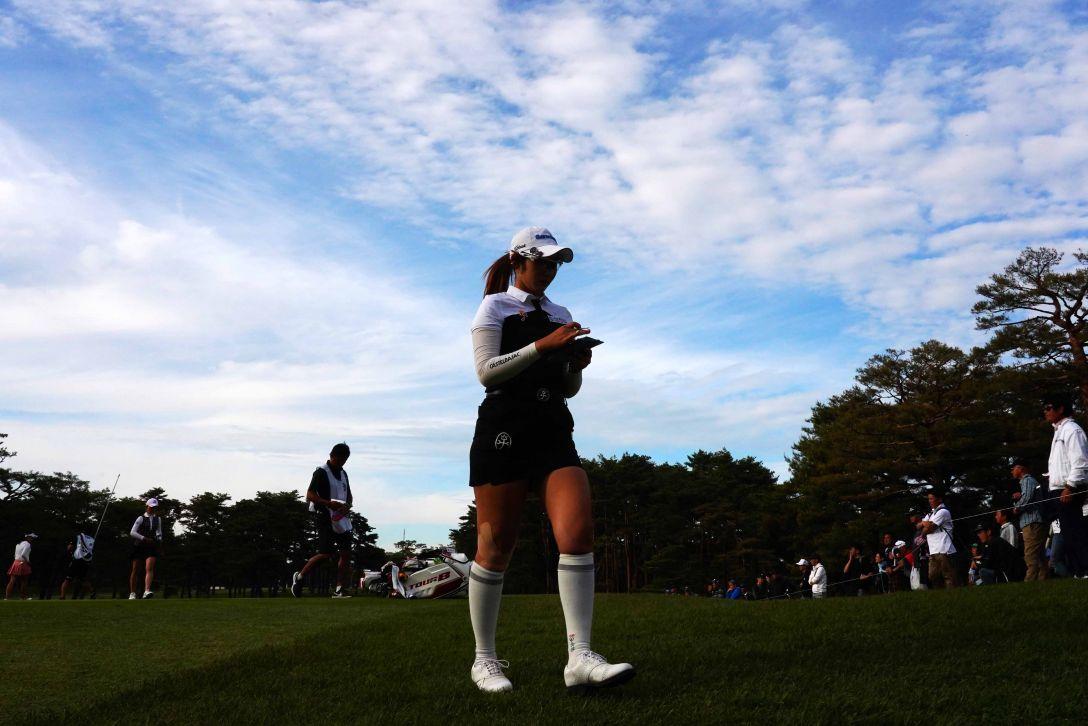 ワールドレディスチャンピオンシップ サロンパスカップ 第1日 ペソンウ <Photo:Masterpress/Getty Images>