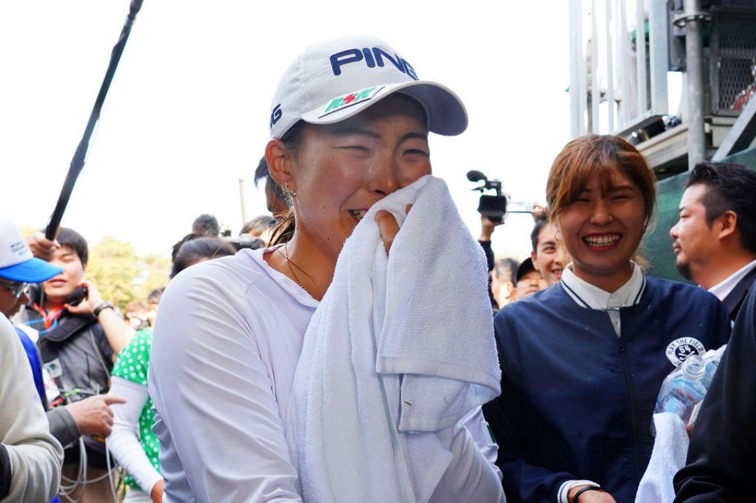 ワールドレディスチャンピオンシップ サロンパスカップ 最終日 渋野 日向子  <Photo:Masterpress/Getty Images>