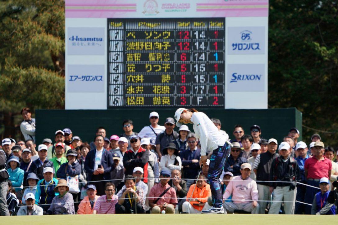 ワールドレディスチャンピオンシップ サロンパスカップ 最終日 渋野日向子 <Photo:Masterpress/Getty Images>