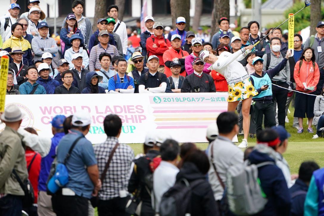 ワールドレディスチャンピオンシップ サロンパスカップ 最終日 木戸愛 <Photo:Masterpress/Getty Images>