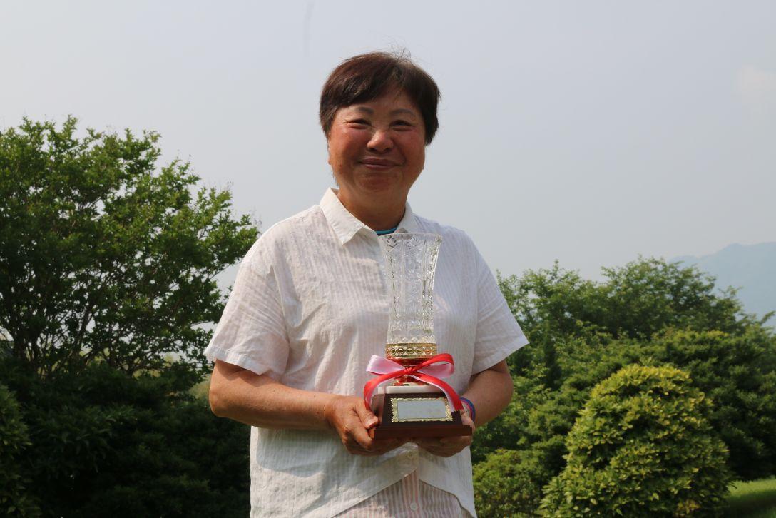ふくやカップマダムオープン「グランドシニアの部」 最終日 黄璧洵