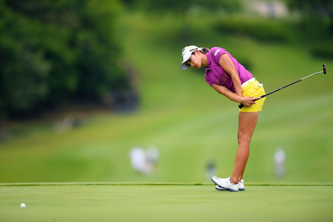 ヨネックスレディスゴルフトーナメント 第1日 原英莉花 <Photo:Atsushi Tomura/Getty Images>