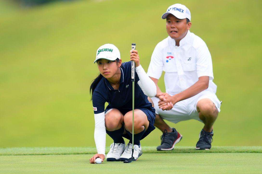 ヨネックスレディスゴルフトーナメント 第1日 吉本ここね <Photo:Atsushi Tomura/Getty Images>