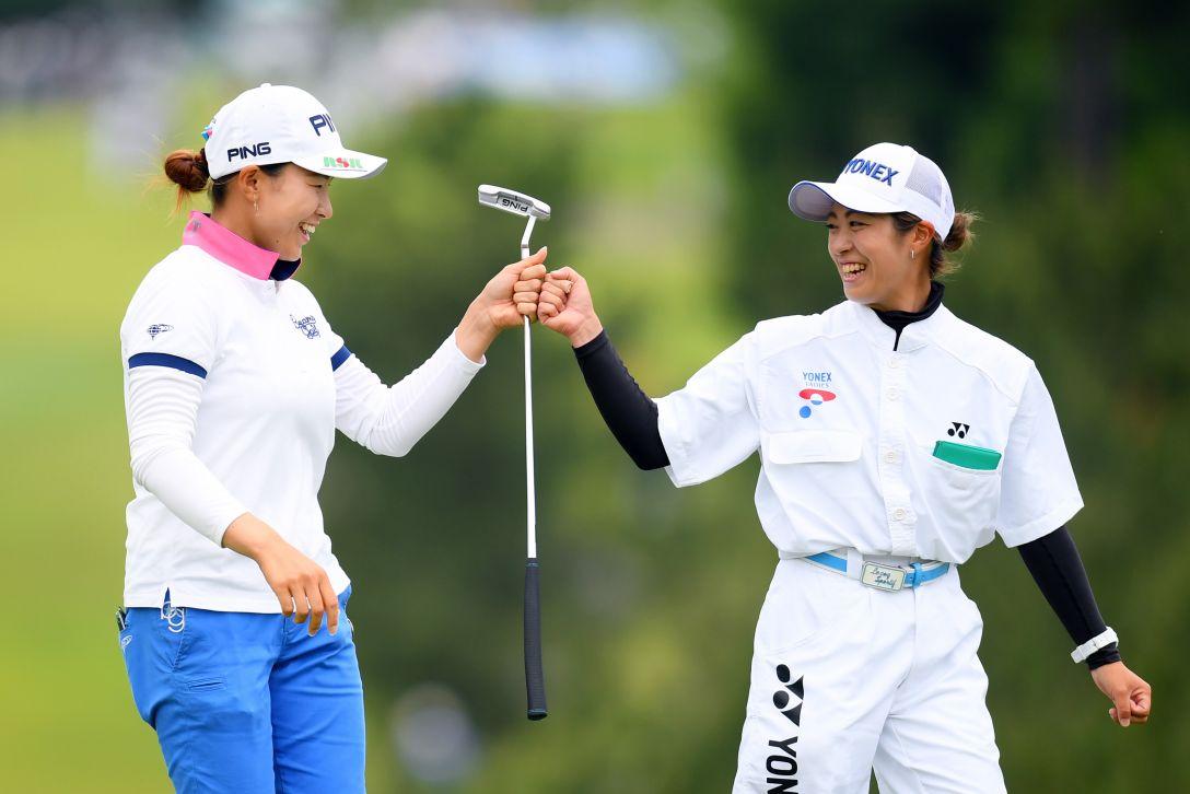 ヨネックスレディスゴルフトーナメント 第1日 渋野日向子 <Photo:Atsushi Tomura/Getty Images>