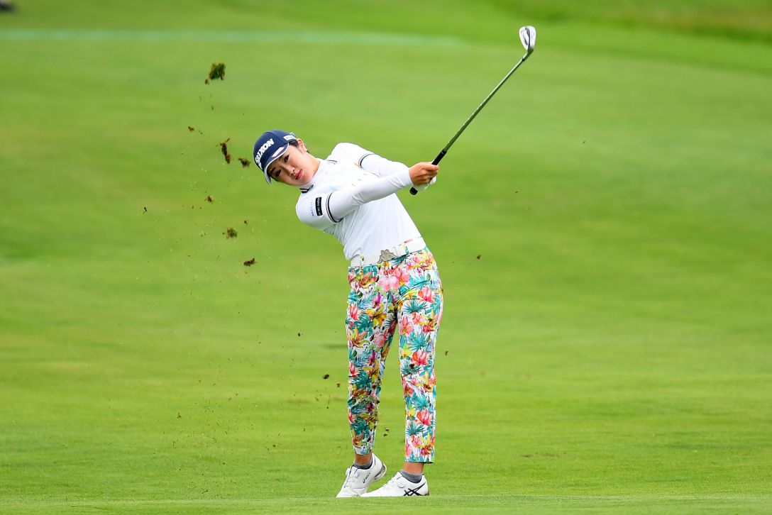 ヨネックスレディスゴルフトーナメント 第2日 林菜乃子 <Photo:Atsushi Tomura/Getty Images>