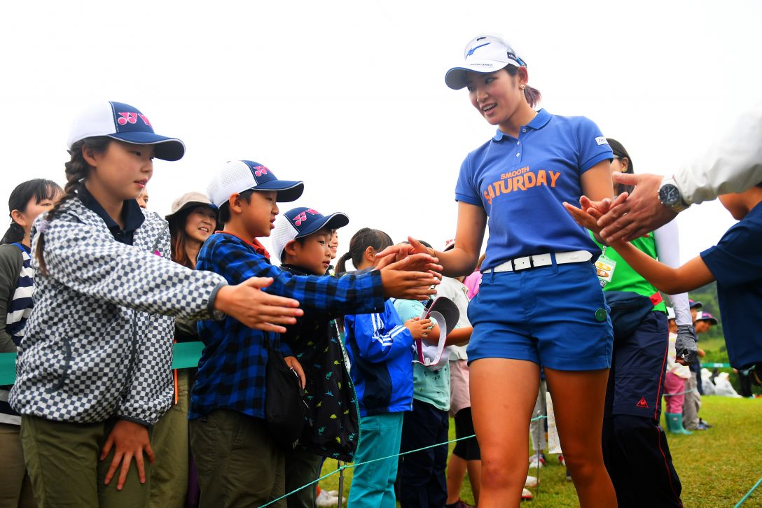 ヨネックスレディスゴルフトーナメント 第2日 原英莉花 <Photo:Atsushi Tomura/Getty Images>