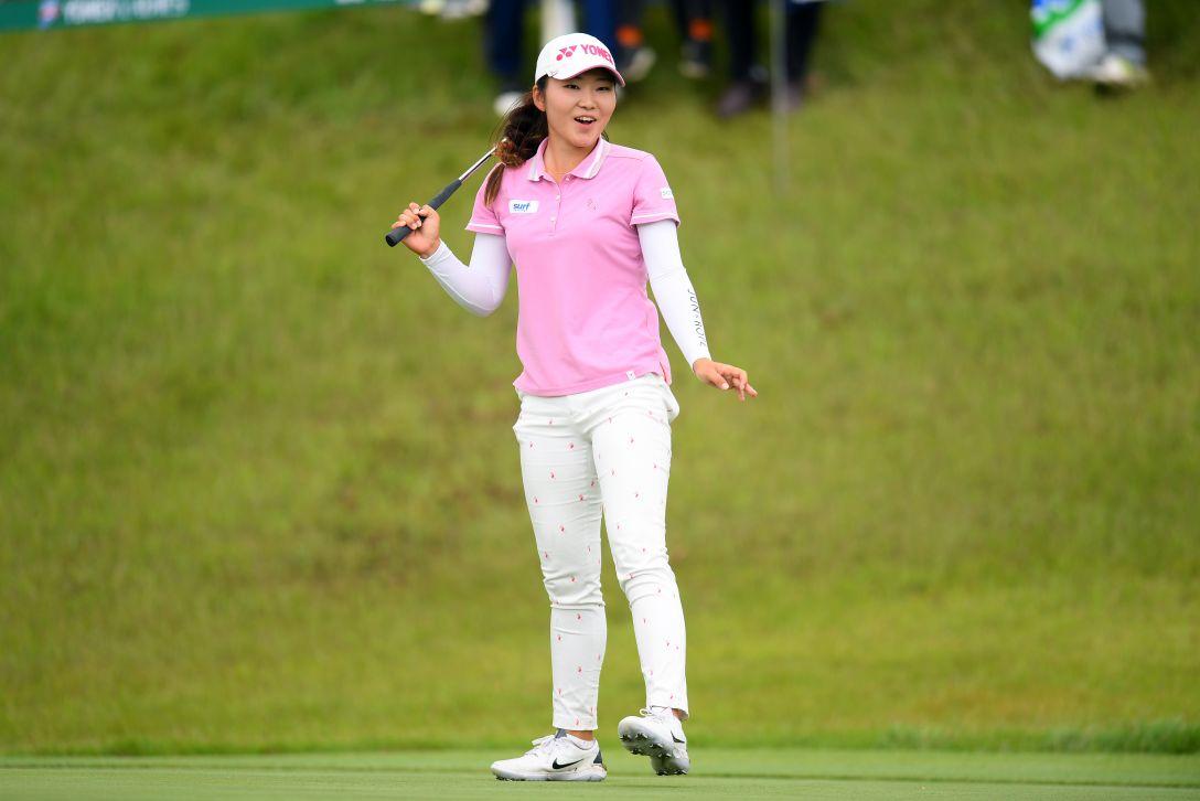 ヨネックスレディスゴルフトーナメント 第2日 石井理緒 <Photo:Atsushi Tomura/Getty Images>